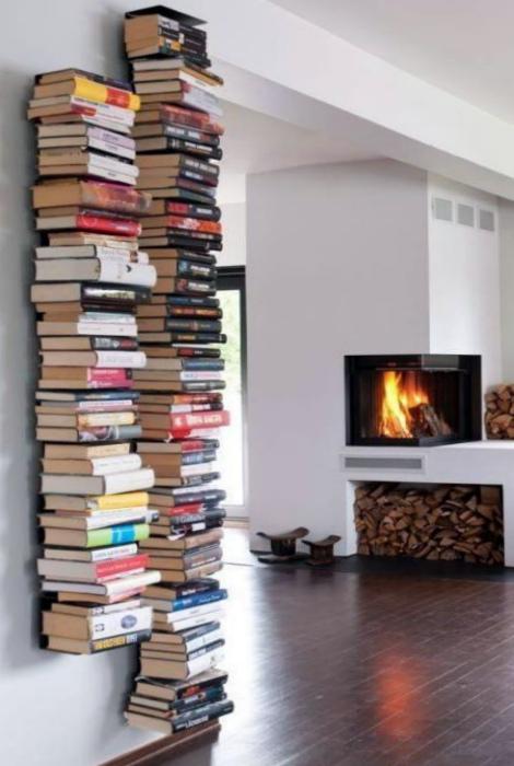 Слишком много книг. | Фото: Яндекс.