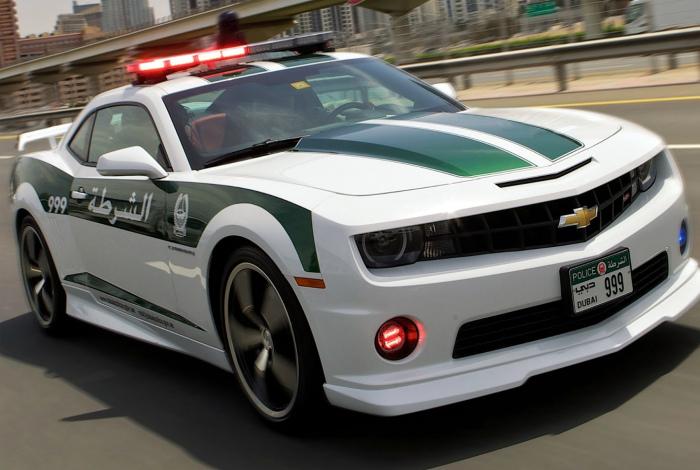 Полицейский транспорт.