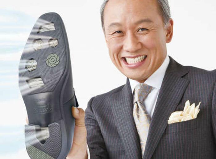 Туфли с вентиляционными отверстиями.