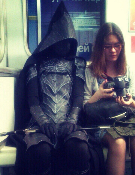 Очаровательный пассажир.