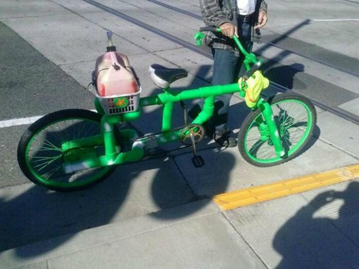 «Папа сказал, нормальный велосипед!» | Фото: LiveInternet.