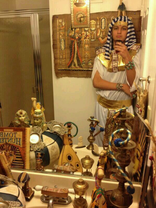 Очарованный Египтом.