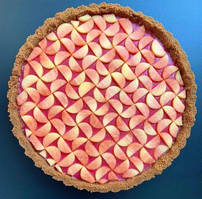 Пирог, который жалко есть. | Фото: SaveIG.