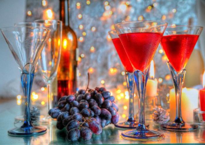 Есть виноград в новогоднюю ночь. | Фото: Русский Еврей.