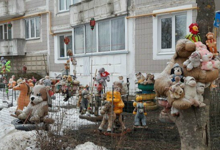 Редакция Novate.ru считает такой декор милым... бррр! | Фото: Фишки.нет.