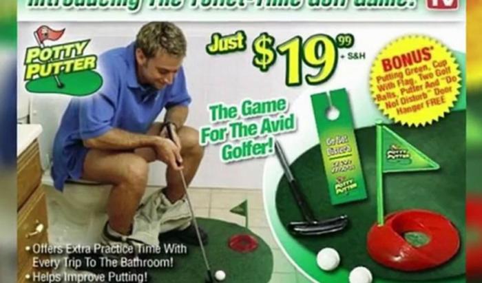 Очевидно, эта игра предназначена для любителей долгих «туалетных заседаний».