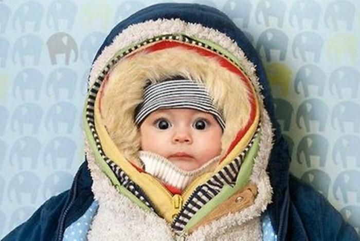 Привычка укутывать ребенка. | Фото: BAOMOI.COM.