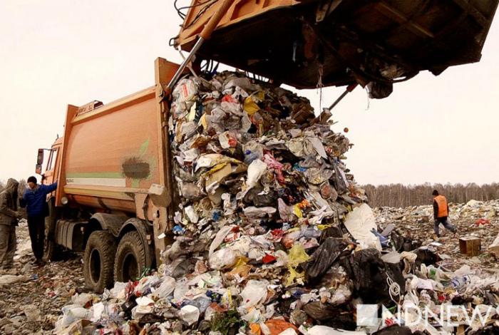 Граждане Германии платят за каждые 450 грамм мусора.