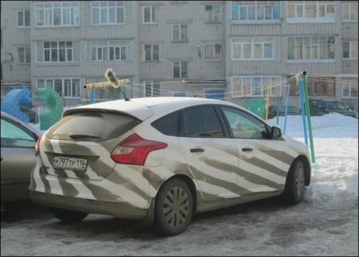 Креативный человек, даже грязь превратит в шедевр.