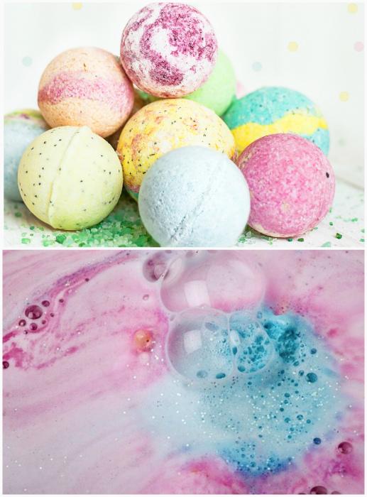 Вред бомбочек для ванны. | Фото: www.lotsfun.com.tw, allWomens.