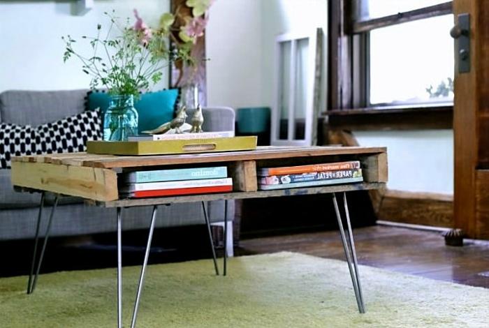 Мебель на ножках.