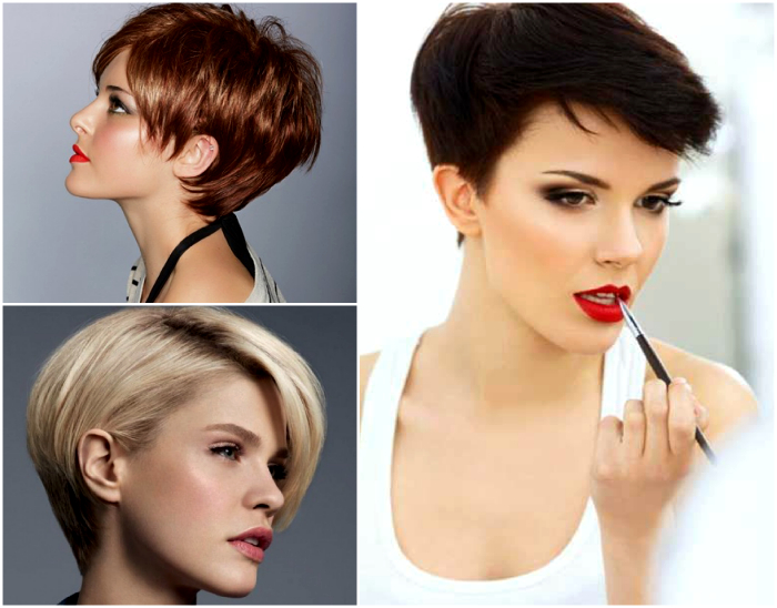 Выбрать стрижки на короткие волосы