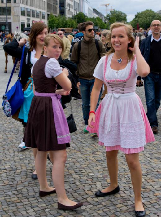 Немецкие женщины. | Фото: Путешествуя вместе с вами.