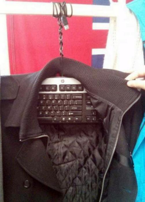Новое предназначение клавиатуры.