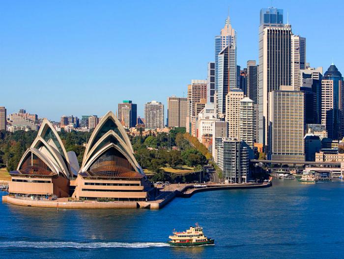 Город Сидней в Австралии. | Фото: airlife.ua.
