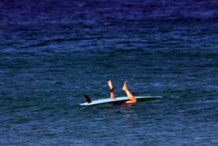 Неудачный серфинг.