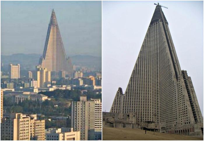 Недостроенный отель Рюген в Кореи.