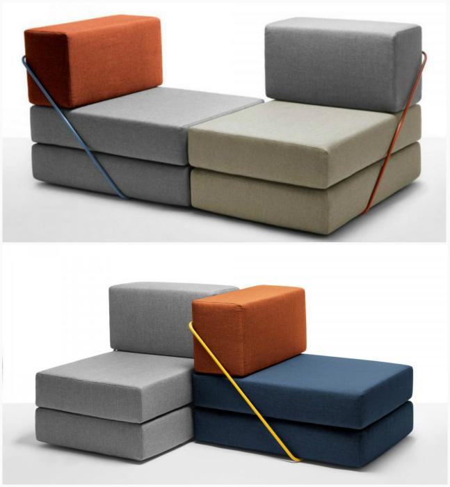 Модульный диван трансформер.