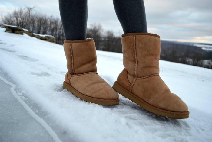 Самая безвкусная зимняя обувь.