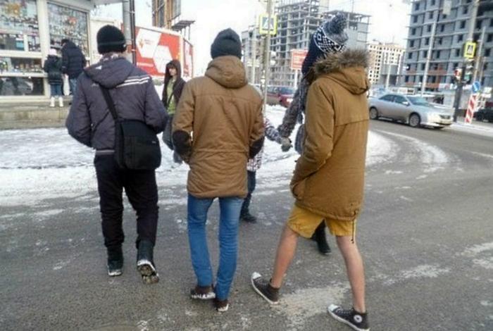 Холода - не беда: 17 потешных снимков о лучших зимних образах горожан