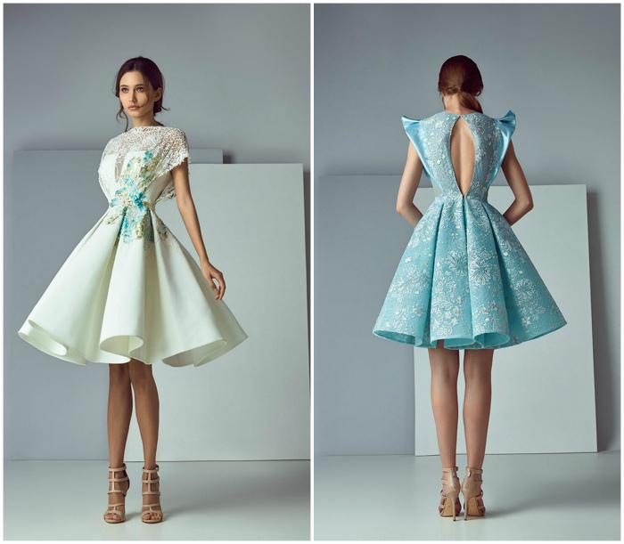 Платья в стиле бэби долл.
