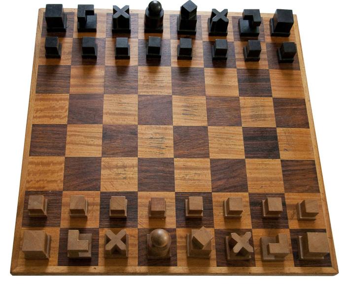 Шахматы для учащихся. | Фото: Пикабу.
