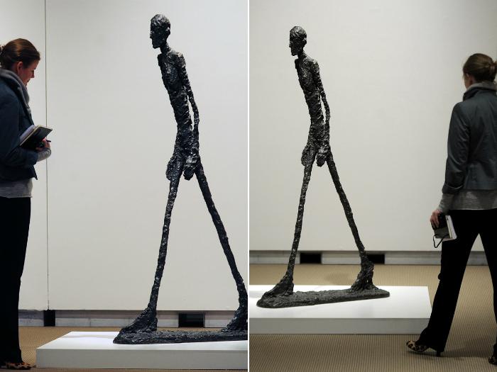 Цена: 4.3 миллиона. Произведение искусства от Альберто Джакометти – самая дорогая скульптура, из когда либо, проданных.