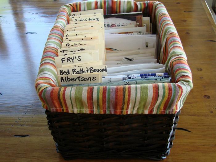 Хранение документов.