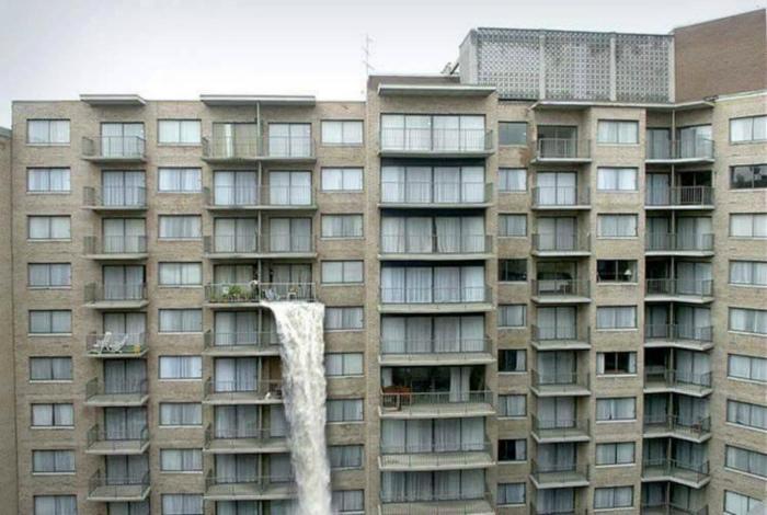 Ниагарский водопад дома.
