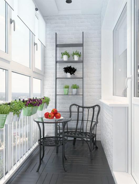 Балкон в стиле прованс. | Фото: Pinterest.