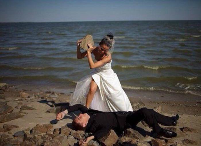 Когда жена становится вдовой. | Фото: Телеграф.