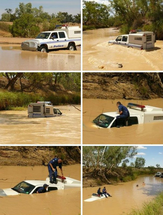 «Ну-ка покажи, на каком сайте ты прочитал, что это машина может плавать?» | Фото: pixmafia.com.