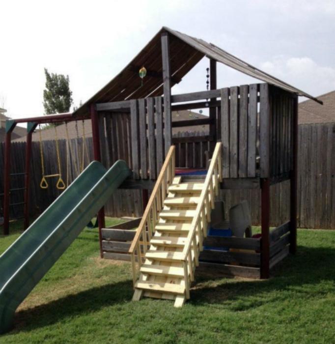 Городок для детской площадки. | Фото: Zewaka.net.