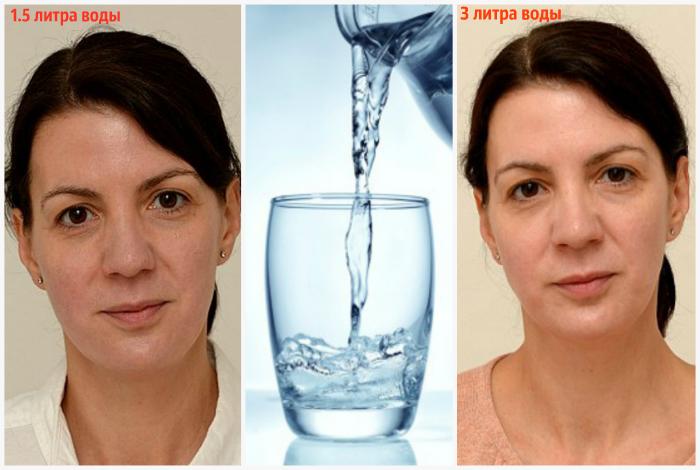 Недостаток воды в организме.