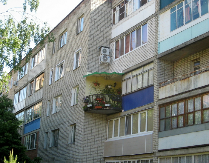 Райский уголок в этом сером здании. | Фото: pixmafia.com.