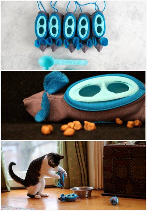 Развивающая кормушка-игрушка NoBowl Feeding System.