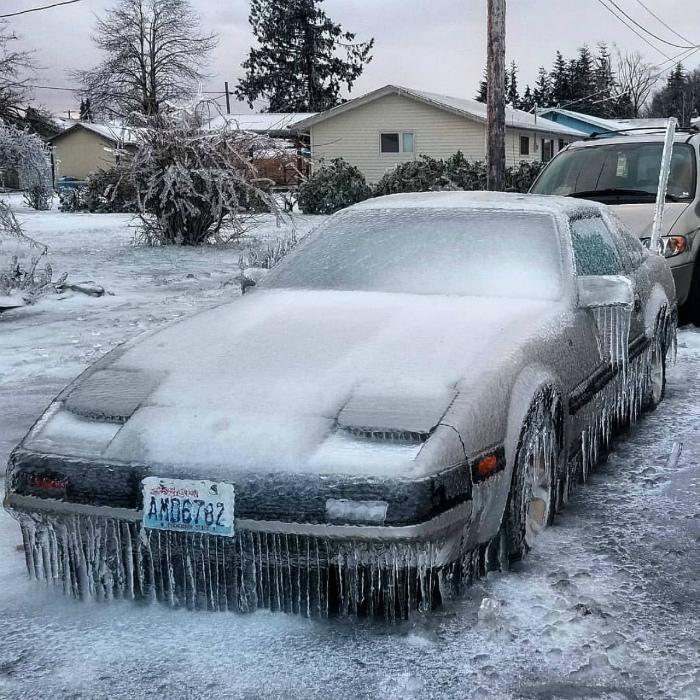 Зимний тюнинг.