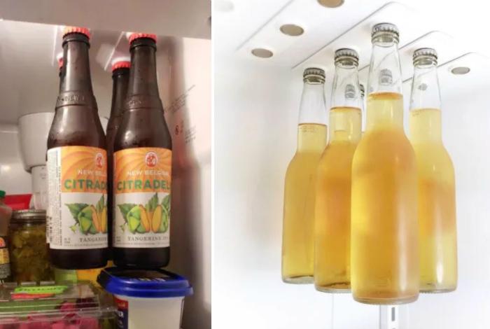 Магнитный держатель для бутылок. | Фото: лучшие фотоновости.