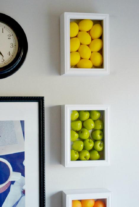 Контейнеры для фруктов.
