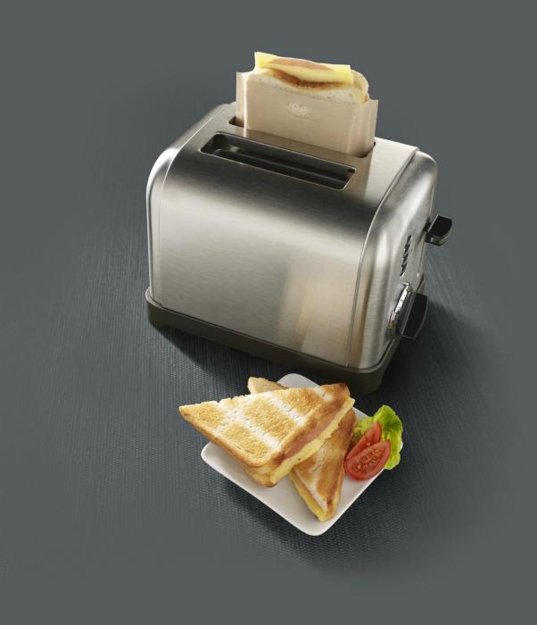 Удобная альтернатива тостеру.