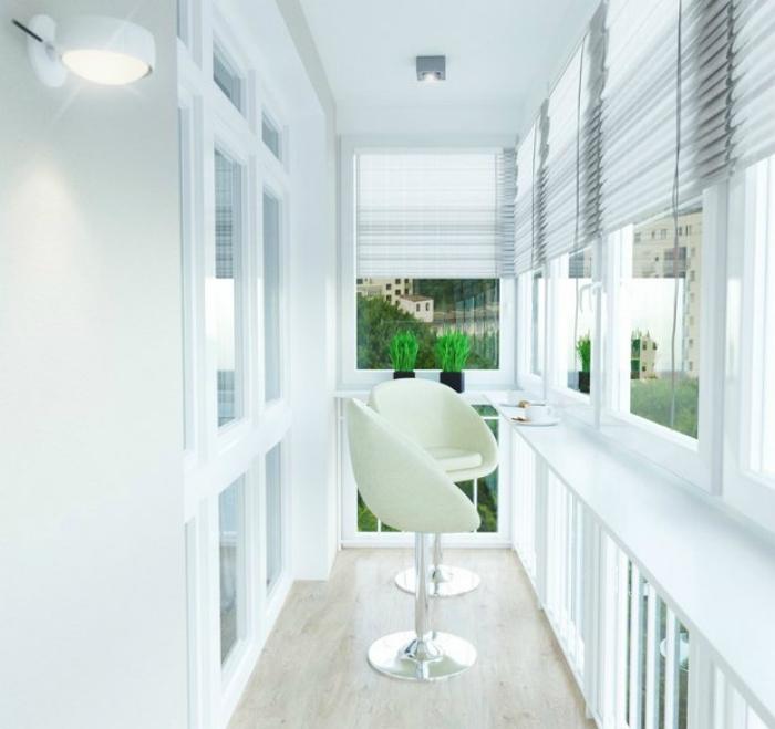 20 стильных балконов, интерьер которых вдохновляет на переме.