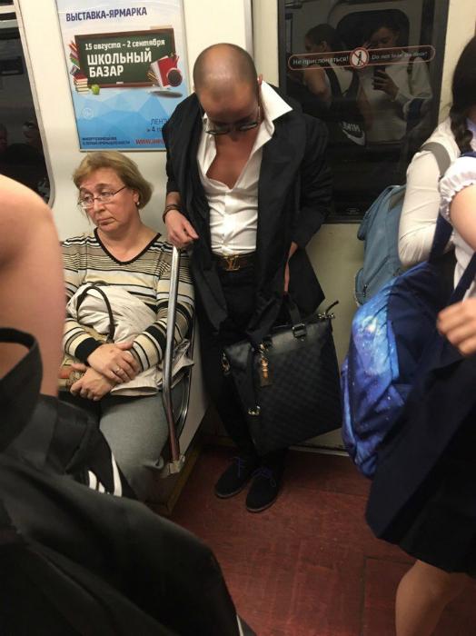 фото даму имеют в метро
