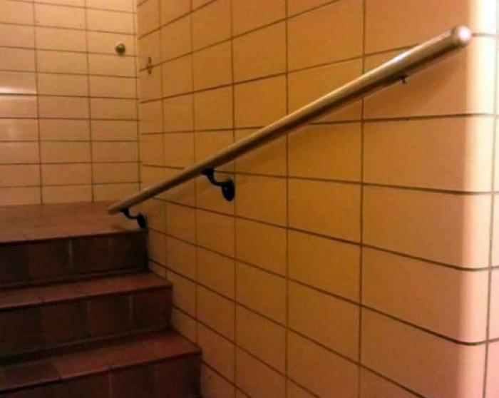 Бесполезные перила. | Фото: Васи.нет.