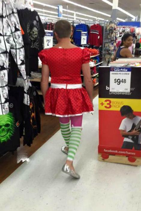 Магия красного платья.