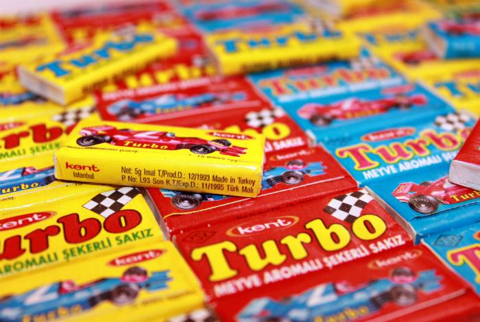 Жвачка Turbо.