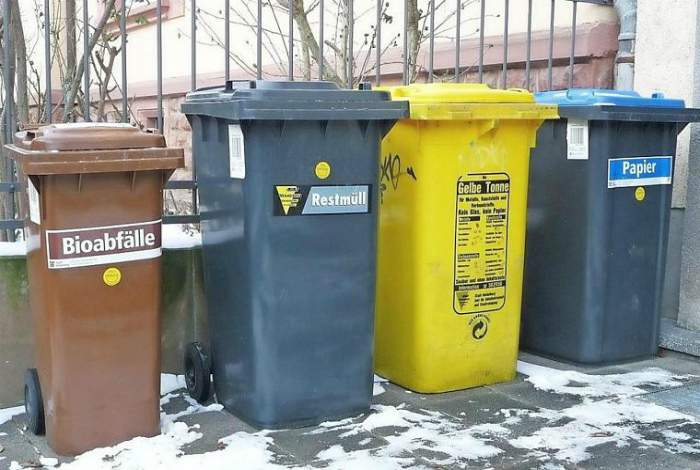 Вымытый мусор. | Фото: inFranken.