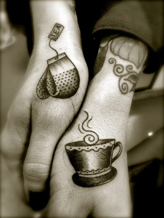 Best matching couple tattoos images
