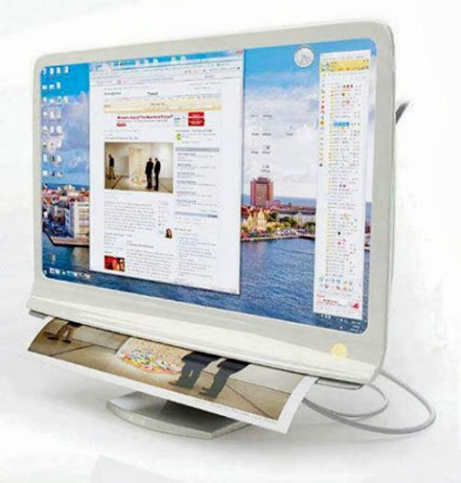 Монитор-принтер Combi Monitor.