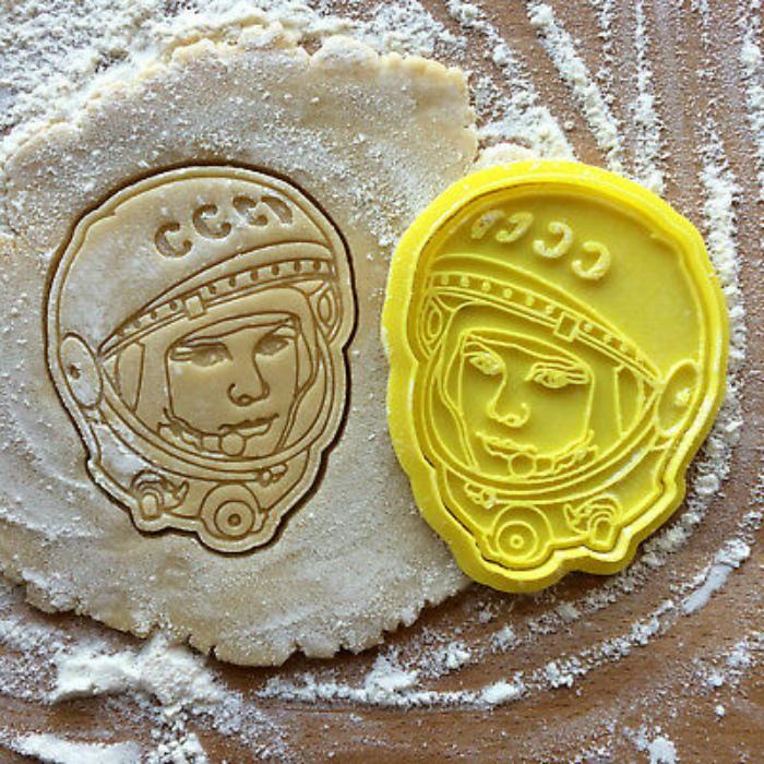 Необычная форма для печенья. | Фото: PicClick.