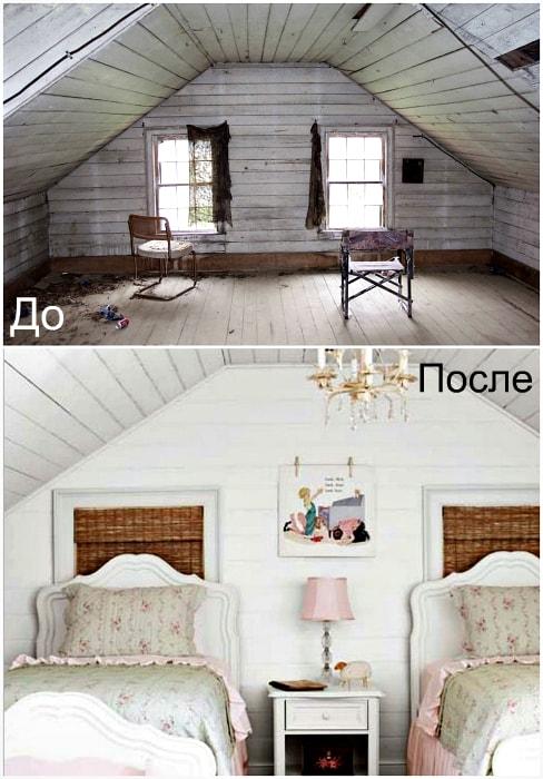 Дизайн комнаты для девочек.